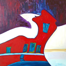 The Red House by Jane Cartney